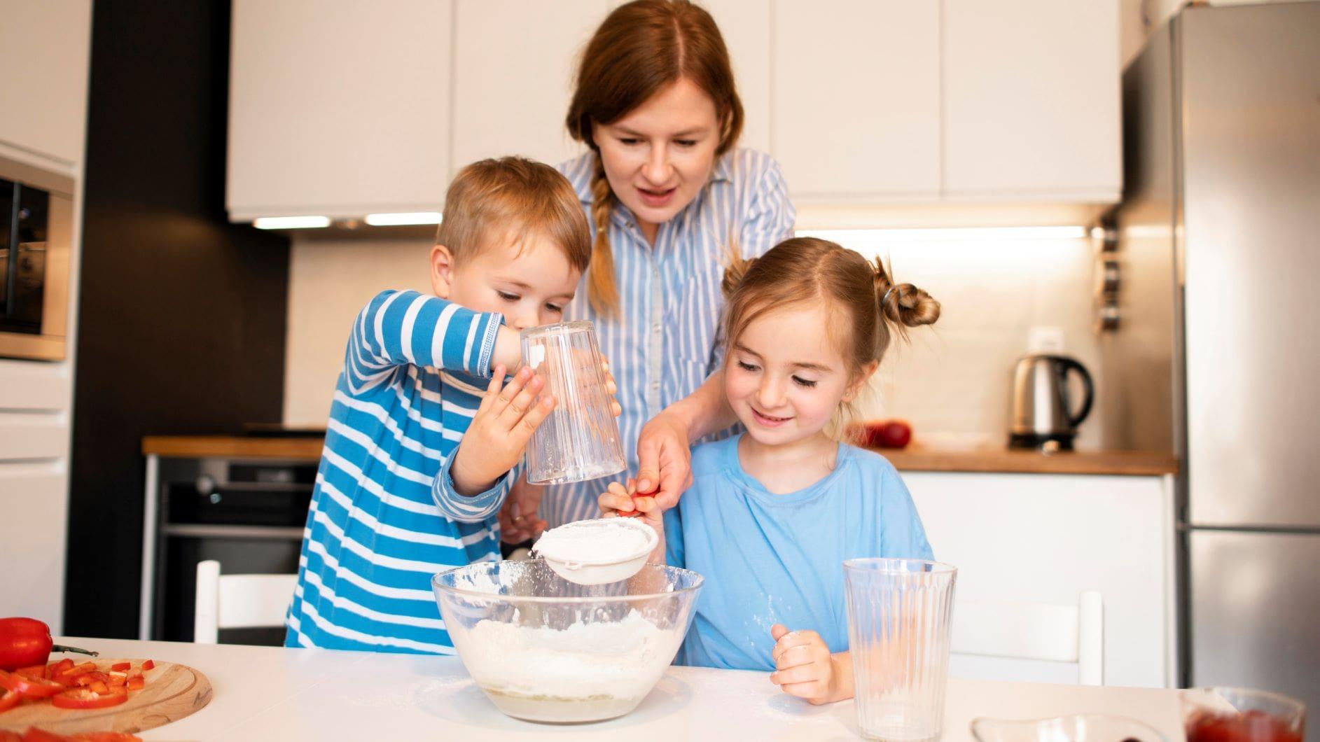 ¡Cocina con los niños!