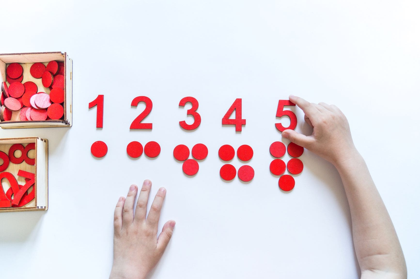 ¿Qué material necesito para enseñar matemáticas a los niños?