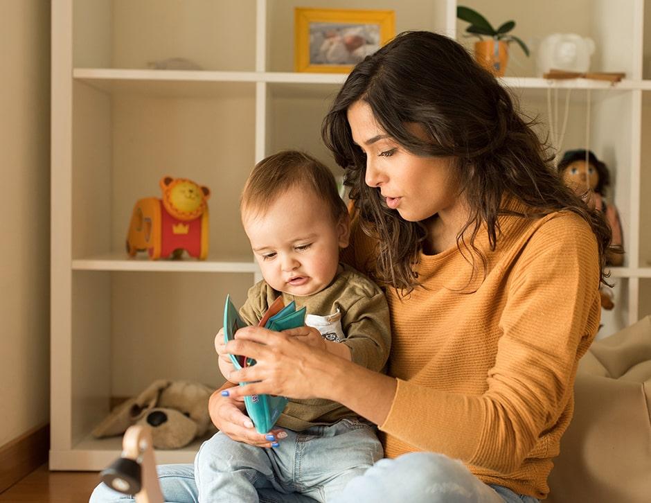 ambiente en casa para niños 1-2 años